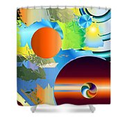 No. 247 Shower Curtain