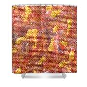 No 27 Brocade Shower Curtain