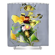 No. 330 Shower Curtain