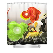 No. 332 Shower Curtain