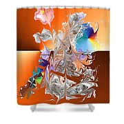 No. 341 Shower Curtain