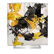 No. 343 Shower Curtain