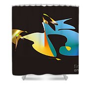 No. 461 Shower Curtain