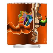 No. 470 Shower Curtain