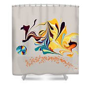 No. 471 Shower Curtain