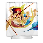 No. 472 Shower Curtain
