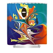 No. 475 Shower Curtain