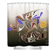 No. 482 Shower Curtain