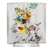 No. 486 Shower Curtain