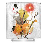 No. 550 Shower Curtain