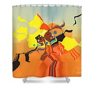 No. 565 Shower Curtain