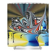 No. 567 Shower Curtain