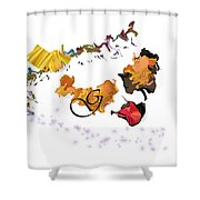 No' 570 Shower Curtain