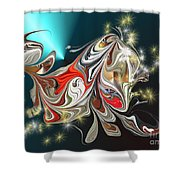 No. 631 Shower Curtain
