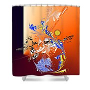 No. 633 Shower Curtain