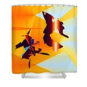 No. 640 Shower Curtain
