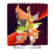No. 684 Shower Curtain