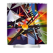 No. 685 Shower Curtain