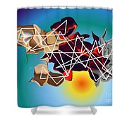 No. 686 Shower Curtain