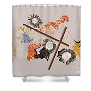 No. 691 Shower Curtain