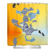 No. 692 Shower Curtain