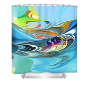 No. 696 Shower Curtain