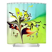 No. 707 Shower Curtain