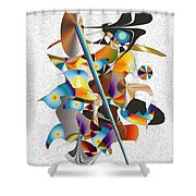 No. 741 Shower Curtain