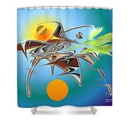 No. 754 Shower Curtain