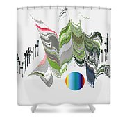 No.  818 Shower Curtain