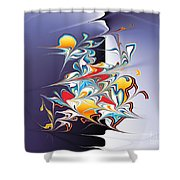 No. 820 Shower Curtain