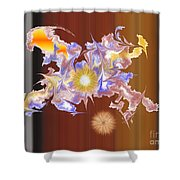 No. 828 Shower Curtain
