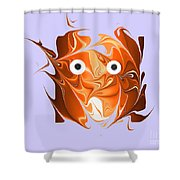 No. 831 Shower Curtain