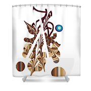 No. 833 Shower Curtain