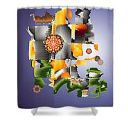 No. 918 Shower Curtain