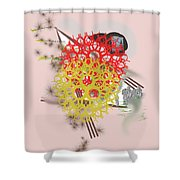 No. 958 Shower Curtain