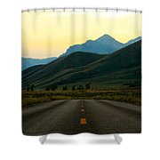 No Cars Here Shower Curtain