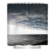 No Fear - Beach Art By Sharon Cummings Shower Curtain