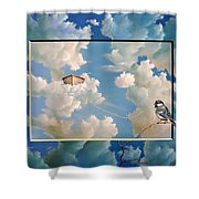 No Gravity Shower Curtain