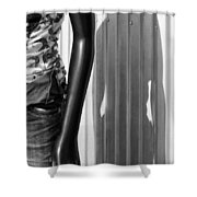 No Head For Fashion Shower Curtain