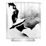 No Limits  Shower Curtain