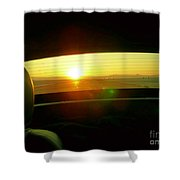 No Looking Back Shower Curtain