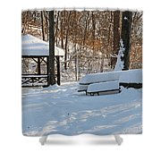 No Picnic Today Shower Curtain