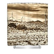 No Place Like Home 2 Palm Springs Shower Curtain