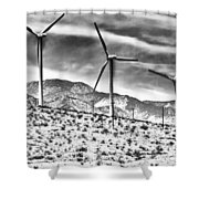 No Place Like Home 3 Desert Hot Springs Shower Curtain