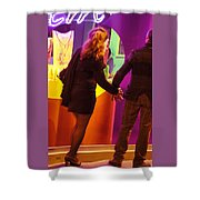No Time For Shopping Shower Curtain