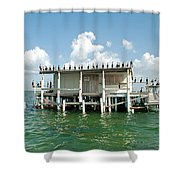 No Vacancy At The Stilt House Shower Curtain