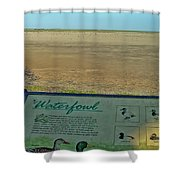 No Water No Fowl Shower Curtain