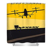 No051 My Mad Max 3 Beyond Thunderdome Minimal Movie Poster Shower Curtain