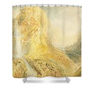 No.0571 Mossdale Fall, Yorkshire Shower Curtain